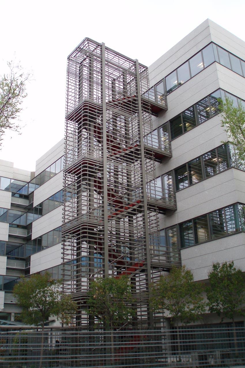 Odv arquitectos t cnicos edificio de oficinas sede for Edificio de la comunidad de madrid